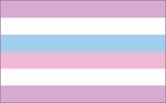The Bi-Gender or Intersex Flag.