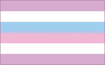 The Bi-Gender or Intersex Flag.