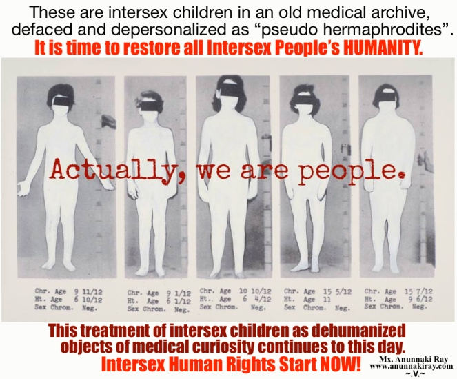 Intersex Children in an old medical archive
