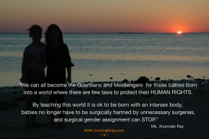 We can all become the Guardians  Girls at Sunset Beach