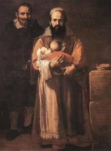 Magdelena Ventura with her husband and son, 1631
