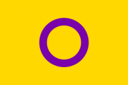 The Intersex Flag I promote