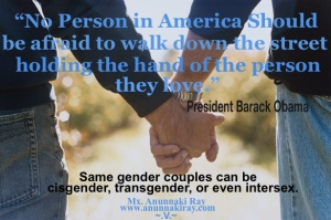 Holding Hands President Quote