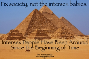 INTERSEX Beginning of Time