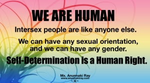 WE ARE HUMAN Self-Determination
