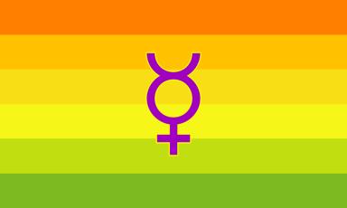 The Germany Hermaphrodite Flag