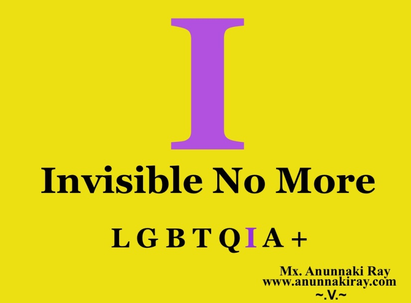 I Invisible No more