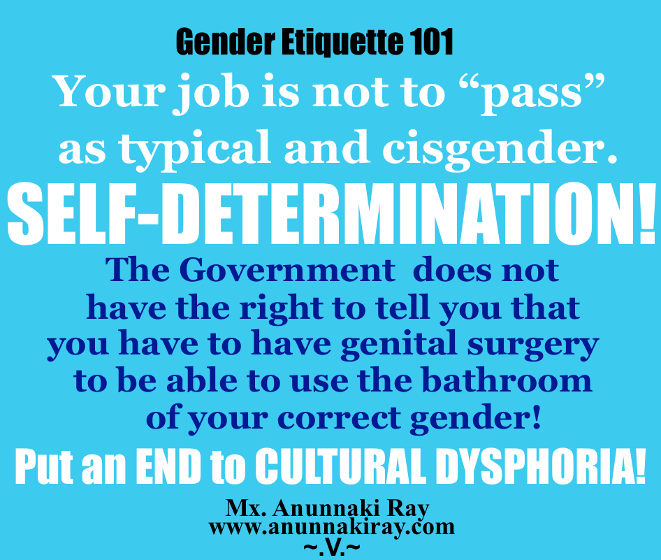 Put and End to Cultural Dysphoria!