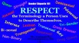 Respect Terminology