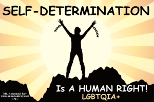 Self-Determination is a Human Right