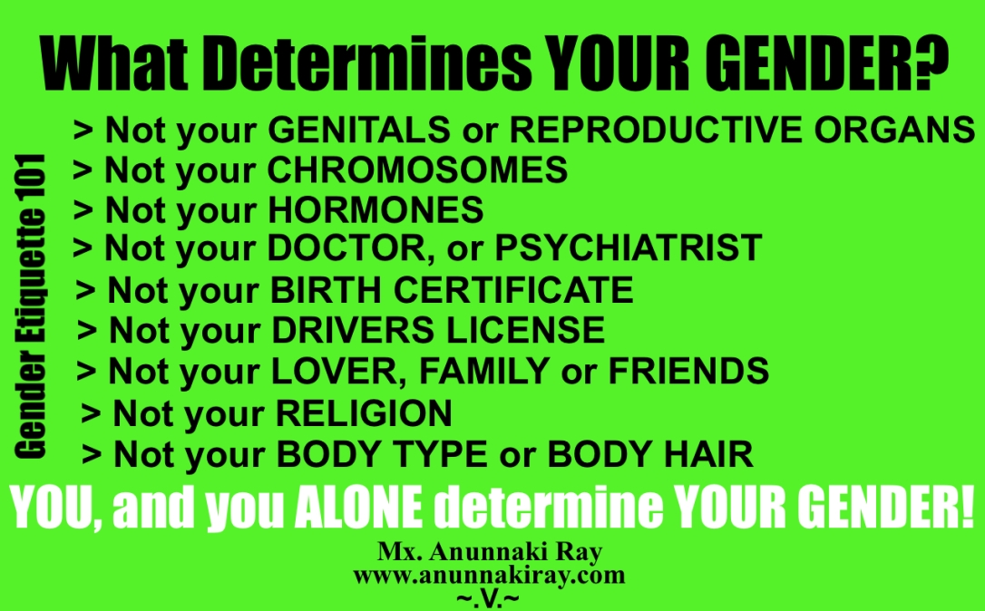 What Determines Your Gender?