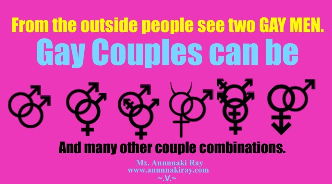 Gay couples can be