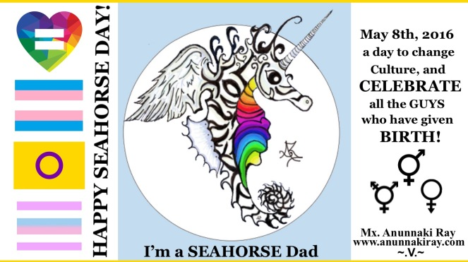 HAPPY SEA HORSE DAY!