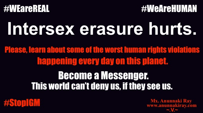 Intersex Erasure Hurts