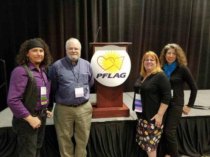 PFLAG National Conference 2017 with my Jacksonville Chapter and Judi Herring, M.D.