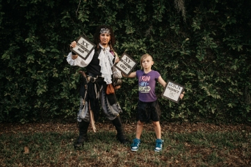 Pirate Antonio with Joey