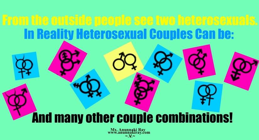 Heterosexual Couples Gender Symbols