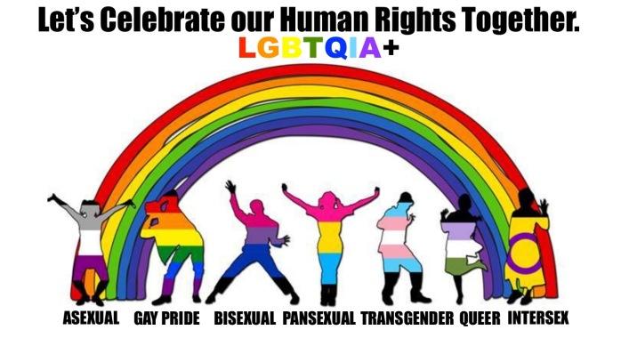 Let's Celebrate the Rainbow LGBTQIA+1