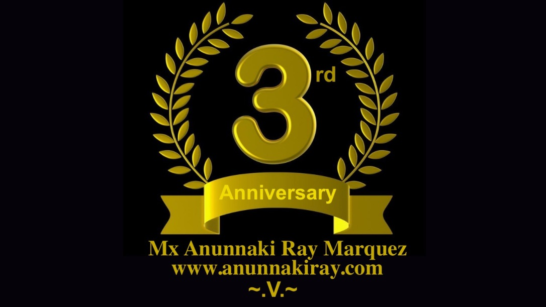 Third Anniversary for My Blog