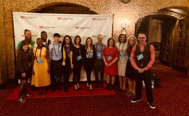 All of us TEDx Jacksonville Speakers for October 20th Conference at Florida Theater.