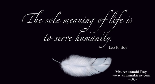 The Sole Meaning of Life:Leo Tolstoy