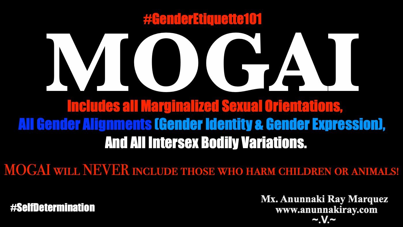 MOGAI Definition - Gender Etiquette 101
