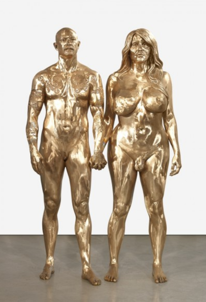 Statues of Buck Angel and Allanah Starr by Marc Quinn 2009