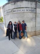 Mx. Anunnaki Ray Marquez, Megan Brukiewa, Lianne Simon, David Brukiewa at Harvard 2019