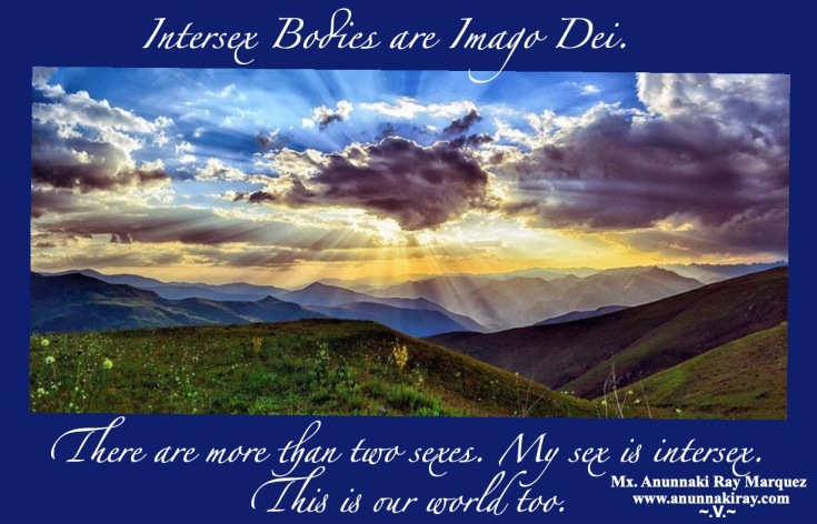 Intersex Bodies are Imago Dei