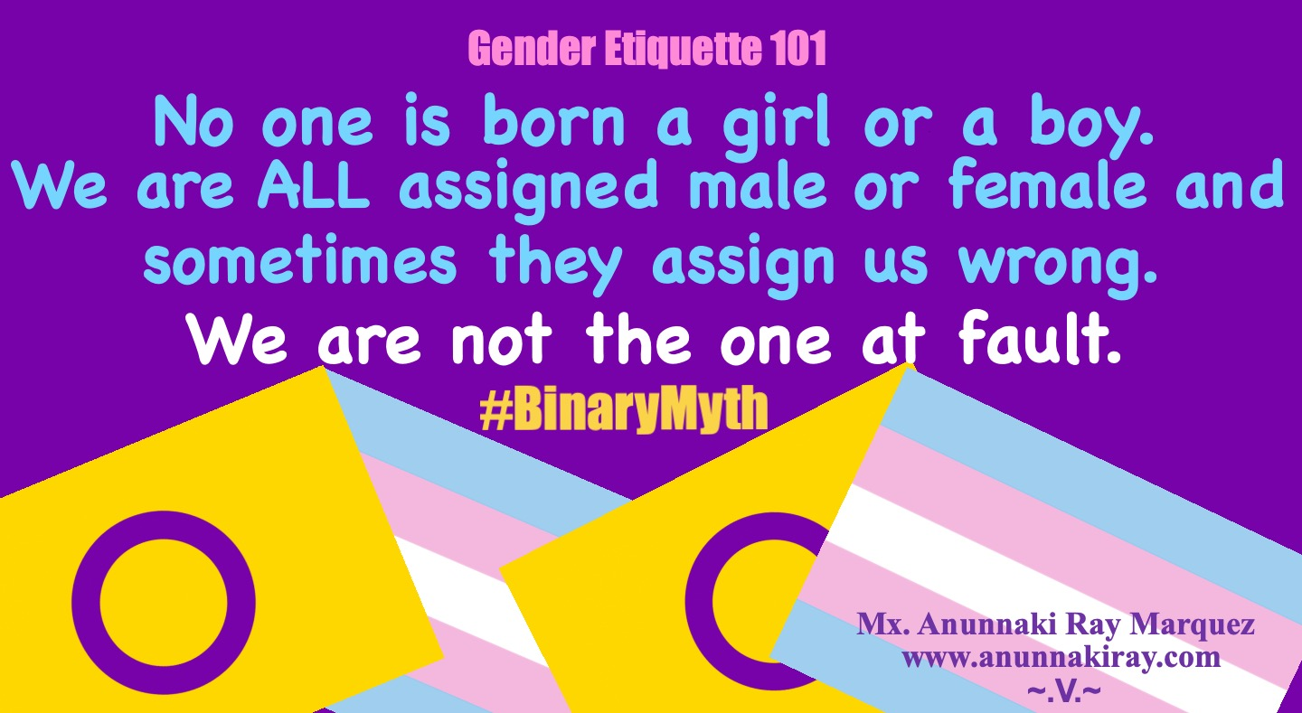 Assigned Wrong Binary Myth | Intersex and Transgender