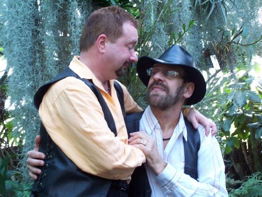 Jim Costich and his husband   2008