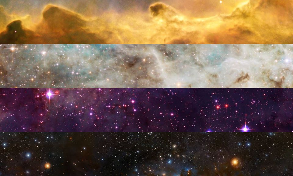 Non-Binary PRIDE Flag | Pride Space Flags by Laurie Raye