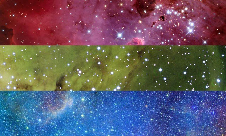 Polysexual PRIDE Flag | Pride Space Flags by Laurie Raye