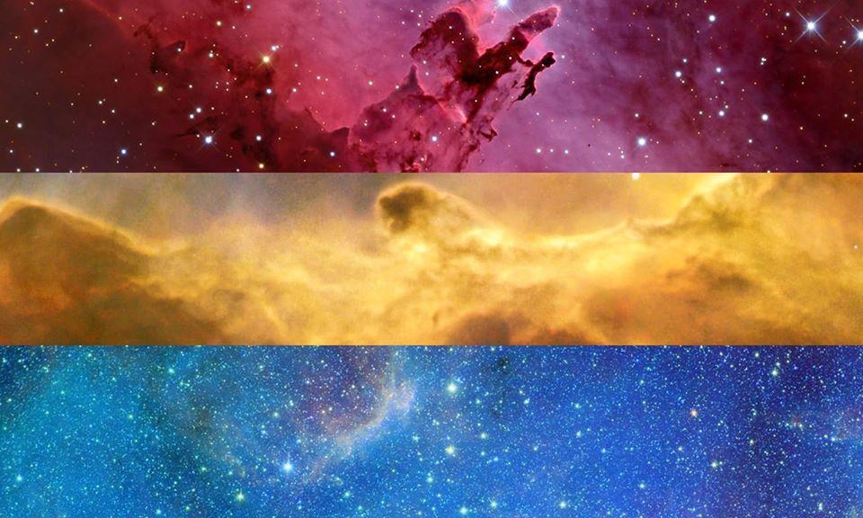 Pansexual PRIDE Flag | Pride Space Flags by Laurie Raye