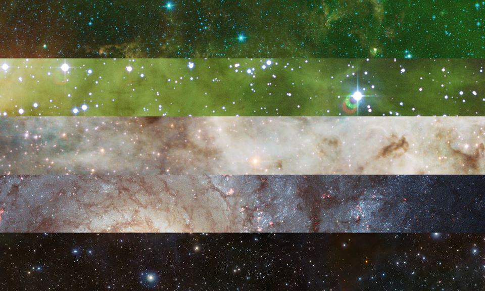 Aromantic PRIDE Flag | Pride Space Flags by Laurie Raye