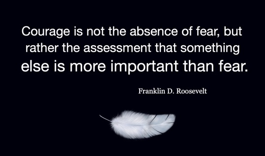 Courage and Fear | Franklin D Roosevelt