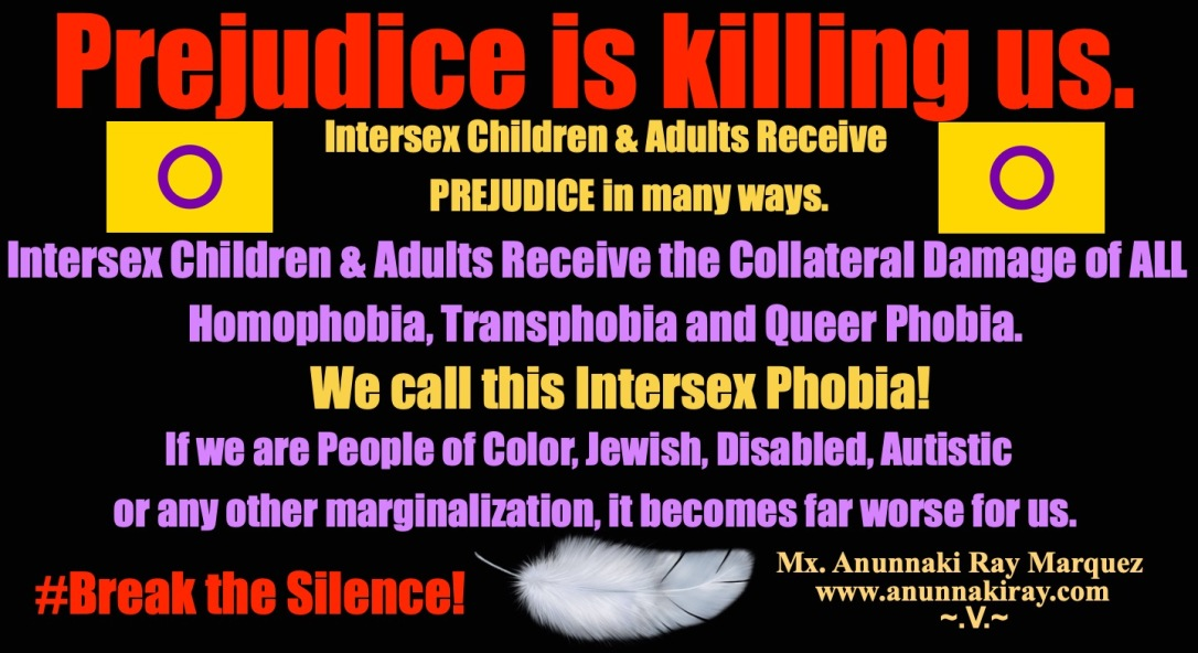 Prejudice Is Killing us | Intersex People